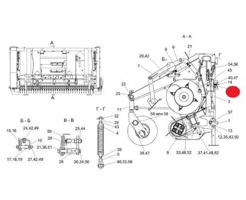 Аммортизатор - КВС-4-3900160