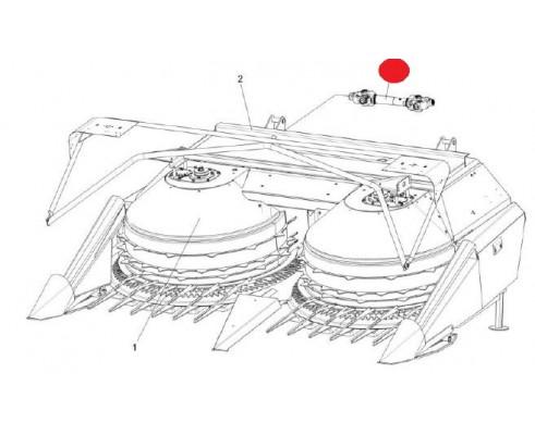 Вал карданный телескопический - ПКК 0140110-04