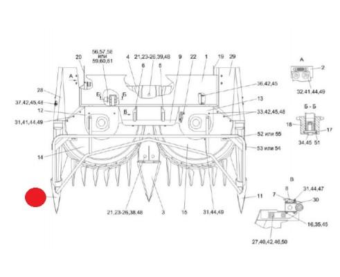 Делитель боковой - ПКК 0207000А-04
