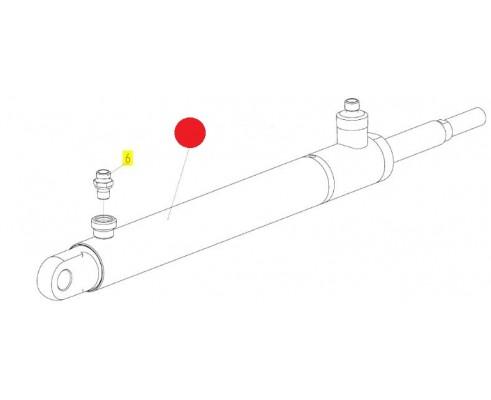 Гидроцилиндр - ЦХБ 040/025/0360/00.01.Б