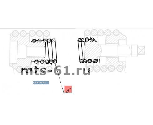 56-60668А - Пружина внутренняя блока уравновешивания