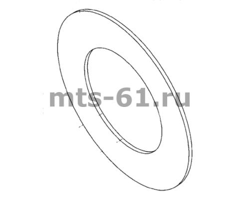 00162Б - Накладка фрикционная муфты предохранительной d 195х115х4