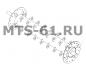 5.14.02.060 - Вал барабана измельчителя нива