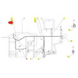 Жгут сигнализации молотил - 101.10.01.830Б