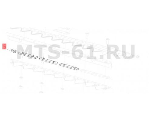 081.27.32.407 - Пластина режущего аппарата
