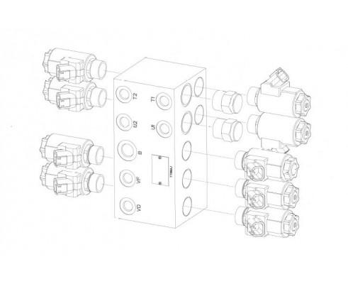 Блок гидравлический - STB 2-031150 (400672937)