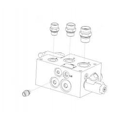 Блок гидравлический - STB 2-031151 (400672938)