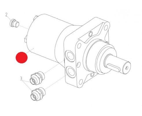 Гидромотор планетарный ТУ 01-006 - RW400CBMPC