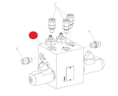 Блок гидравлический - STB 2-031152 (400672939)