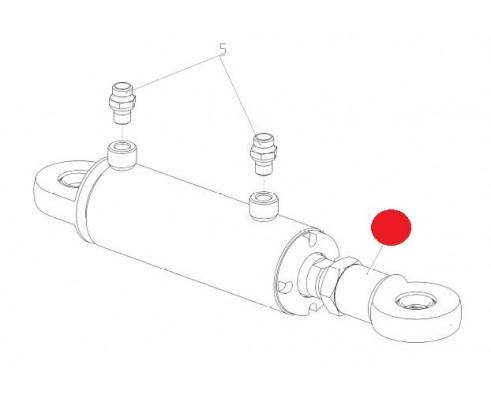 Гидроцилиндр - ЦХБ050/030/0100/01.02.А(311118423)