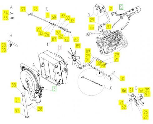 Блок радиаторов - 161.05.07.200А