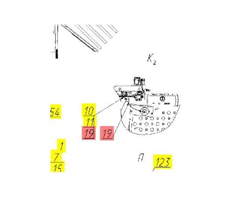 Жгут контроллера 1 - 161.10.01.890В