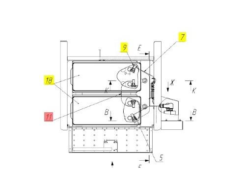 Провод аккумуляторов - 161.10.22.380А