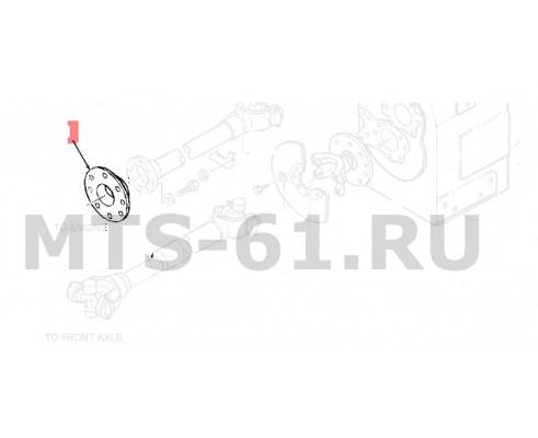 86017513 - Фланец dynaflex 600 ser