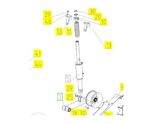 Гидроцилиндр - 161.29.01.620