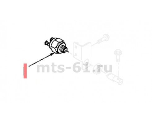 55699 - Датчик нейтрального положения рычага кпп