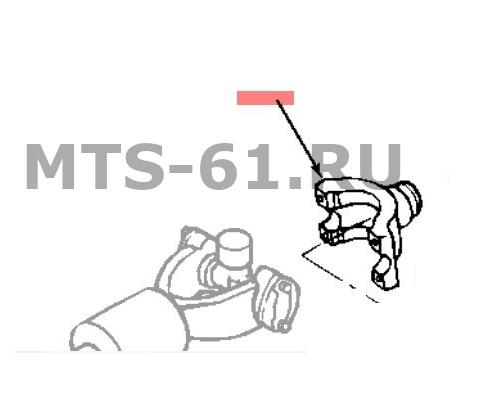 86038078 - Вилка-вал карданный
