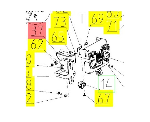 Кронштейн - 161.59.10.429-01
