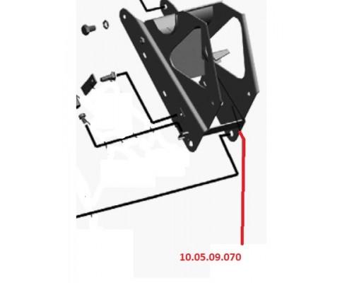 10.05.09.070 - Кронштейн механизма натяжения