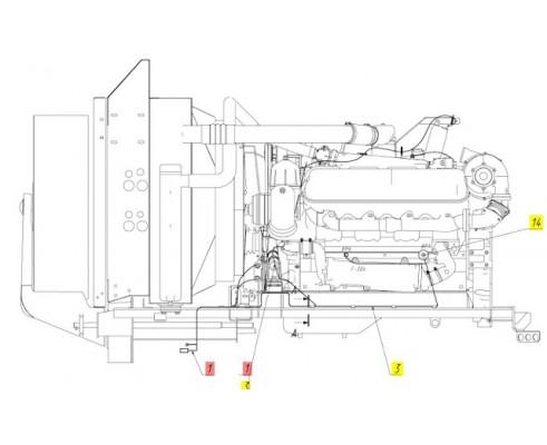 Жгут генератора - 181.10.15.180