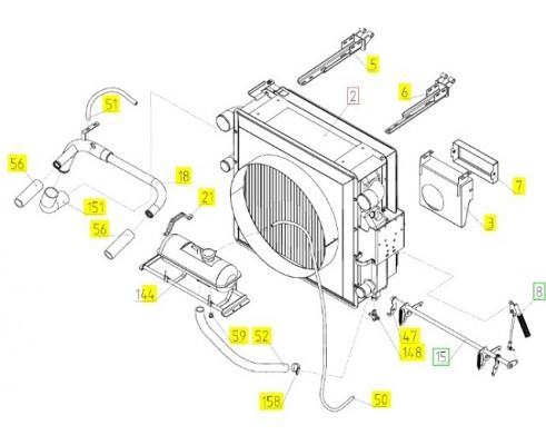 Блок радиаторов - 101.05.00.200-01
