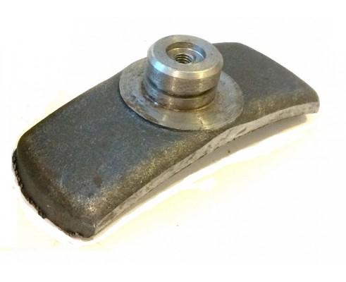 Колодка тормозная КПП 700.17.01.417-1 (Завод)