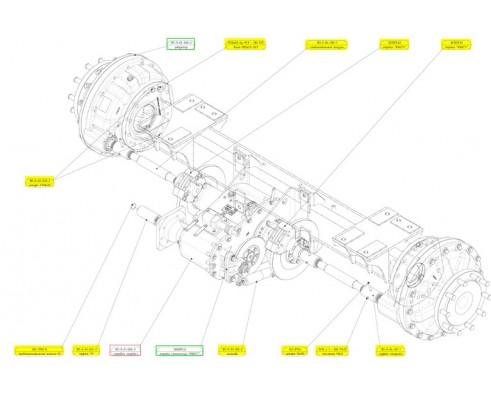 Коробка передач - 181-9-01-000-3