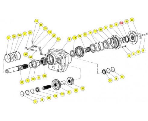 Сальник - 355012070R