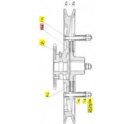 Ступица трения - 54-10062Б