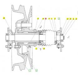 Гидроцилиндр специальный ТУ 23. - 54-154-3