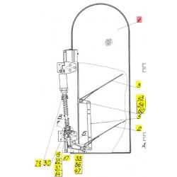 Воздухозаборник - 54-3-10-1В