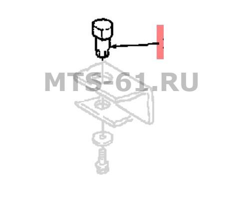 9705769 - Палец тяги задний