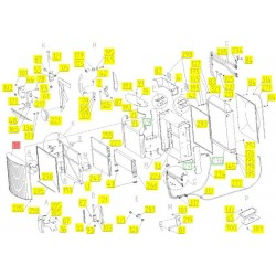 Решетка радиатора - 86031640R