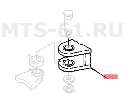9705955 - Комплект шарнира
