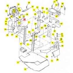 Бачок омывателя стекол - 9706485