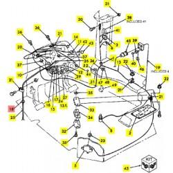 Втулка трубки измерителя резинов - 9707504