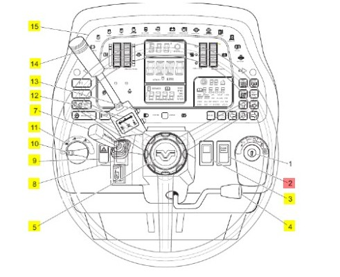 Выключатель двигателя - 9824815