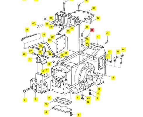 Болт с шестигранной головкой m20 - 9849411