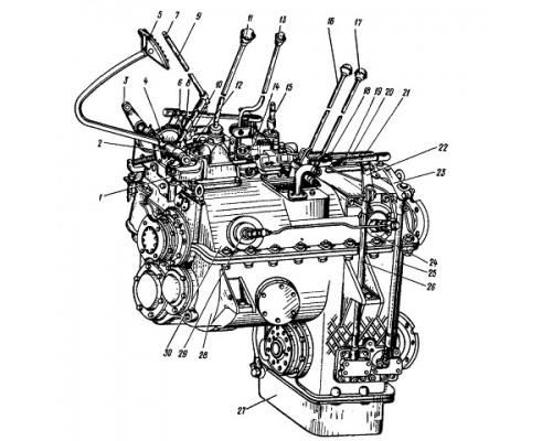 КПП 700А.17.00.000 переключения передач с выносным фильтром (Капремонт)
