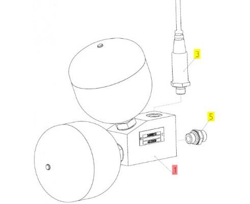 Блок гидроаккумуляторов - 3499877