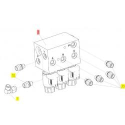 Блок гидравлический - 3680337