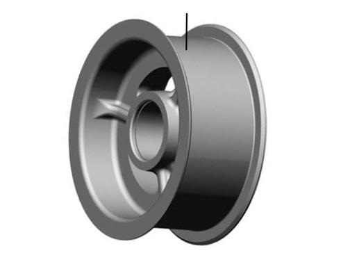 Шкив натяжной d 200 мм для ремня 4/нв (плоский)