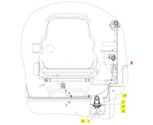 Жгут кресла - МРУ-2.56.420Б