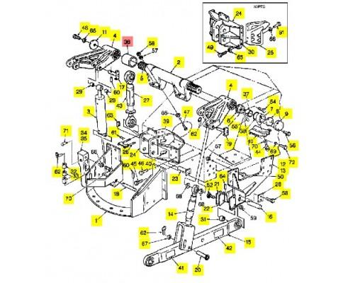 Втулка 3,5x4,0 длина 3 - 18126