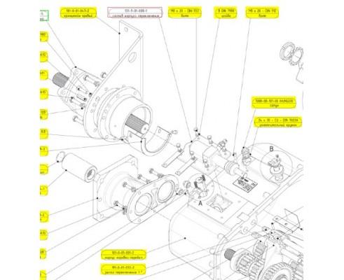 Cостав корпуса переключен - 131-9-01-008-1