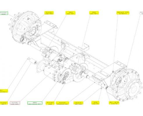 Коробка передач - 161-9-01-000-3