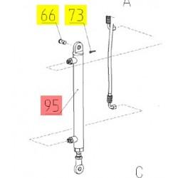 Гидроцилиндр - ЦХБ 032/020/0360/00.01.Б