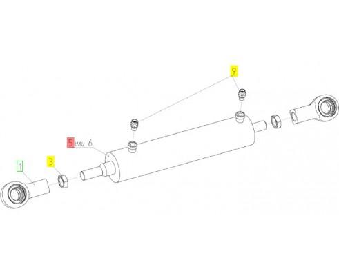 Гидроцилиндр - ЦХБ 063/032/0275/01.01.А