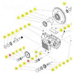 Кольцо стопорное пружинное вн - 339001072R