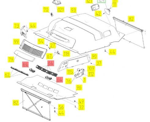 Дефлектор - 06-340080-05